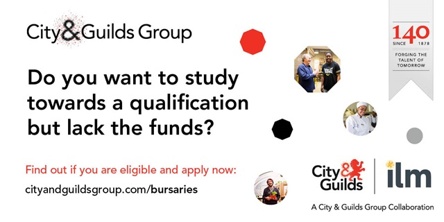 City & Guilds Group bursary 2019