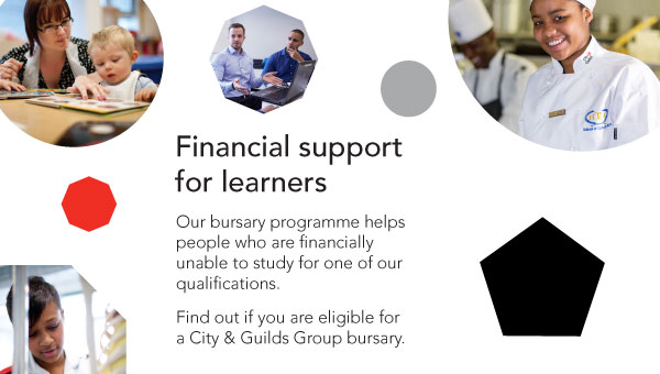 City & Guilds Group bursary programme: financial support for learners