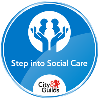 future learn step into social care badge